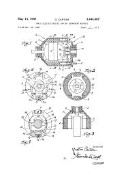 Mechanical electrical large size patent us3444402 small electric motors having permanent mag s drawing