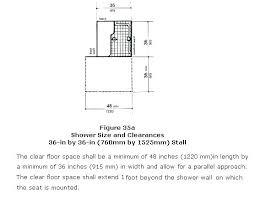 shower door width minimum take action code glass