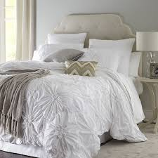best solutions of decoration white ruched duvet cover bedroom bring luxury to your wonderful king
