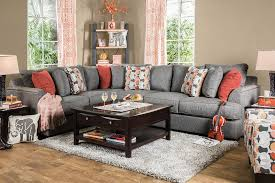 pennington collection sm1112 furniture of america sectional sofa