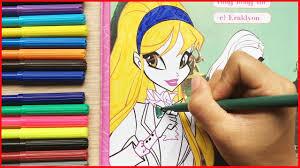 Đồ chơi trẻ em, Tô màu công chúa tiên nữ WinX Stella và Musa, tiên hộ mệnh  Coloring WinX (Chim Xinh) - YouTube
