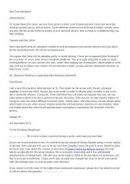 Personal Reference Letter For A Friend Contemporary Representation