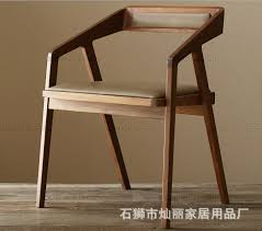 ikea retro furniture. Chan Lai IKEA High-grade Iron Wood Dining Chair Solid Chairs Hotel Cafe Old Retro Ikea Furniture