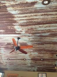 metal roof panels for basement ceiling google search rusted metal panels