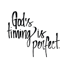 Gods Timing Quotes Enchanting God's Timing Is Perfect