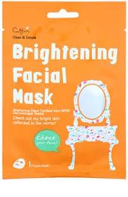 Clean Simple Cettua Clean Simple Zellschichtmaske Mit Aufhellender Wirkung