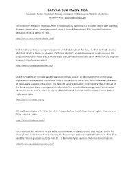 Resume Sample For Nurses Certified Diabetes Educator Resume Nurse