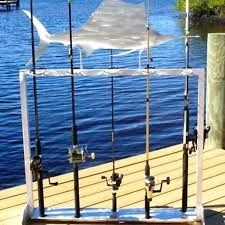 fishing pole rack fishing accessories custom crafted racks the offs fishing rod holder pole fishing rod