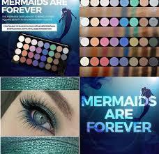 mermaids palettes makeup
