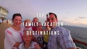 royal caribbean top 5 family vacation destinations