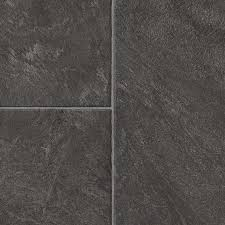 style selections 12 83 in w x 4 27 ft l glentanner slate embossed tile look