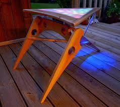 diy klingon led coffee table