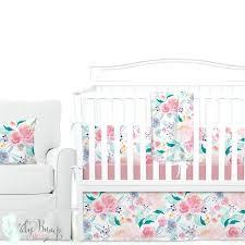 watercolor fl bedding bright beautiful watercolor fl baby girl crib bedding set sweet jojo watercolor fl