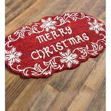 red and white area rug plow hearth merry snowflake hand hooked wool red white area rug red and gray area rugs