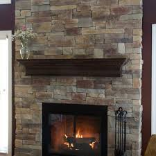 finest ms with stacked stone fireplace