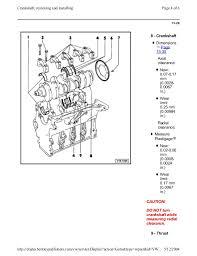 003 volkswagen passat official factory repair manual 2 0 liter 4 cyl 5 12 2004 61