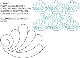 185 best Quilting ~ LongArm images on Pinterest | Longarm quilting ... & Pillow Talk Pantograph / Border by Christy Dillon CDPANTO15 from Digi-Tech  · Doodle PatternsZentangle PatternsZentanglesFree Motion QuiltingLongarm ... Adamdwight.com