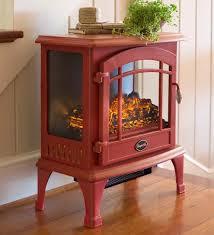image of mini electric fireplace heater