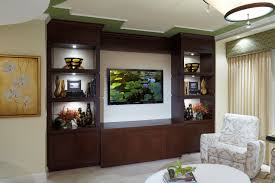 Side Cabinets For Living Room Furniture Modern Storage Wall Unit With Tv Inside It Modern