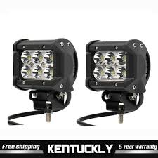 4 1 2 Inch Led Driving Lights Details About 2x 18w 4 Inch Led Work Light Bar Spot Beam Off Road 4wd Driving Lamp