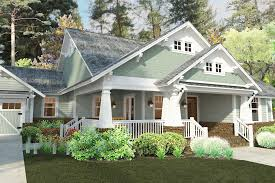 sensational craftsman cottage house plans style bungalow porch homes and architecture small with stone home front floor plan affordable lake bedroom