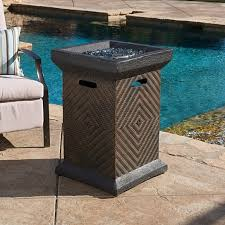 trending this item has been added to cart 76 times in the last 24 hours centinela outdoor 19 inch liquid propane fire pit column