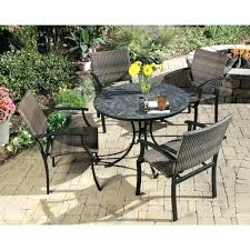 stone top outdoor dining table tile top outdoor dining table table stone stylish slate top outdoor