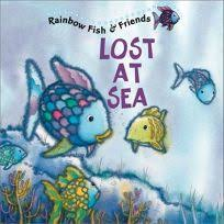 lost at sea rainbow fish friends with 2 pages of stickers this book