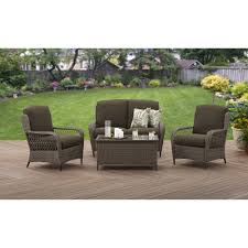 Small Picture Better Homes and Gardens Manaville Wingback 4 Piece Conversation