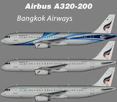 Bangkok Airways Airbus A320-200 – Nils – Juergen's paint hangar