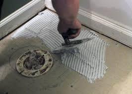 How To Tile A Bathroom Floor Video Flooring Floor How To Install Ceramic Tile Theflowerlab