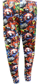 Character Pants Marvel Comics Avengers Character Mash Up Jogger Lounge Pants