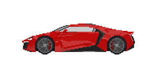 New one off bugatti la voiture noire revealed at geneva. Detailed Pixel Art Cars Opengameart Org