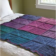 Top 10 Sampler Stitch Afghan Free Knitting Patterns ⋆ Knitting Bee & Valley Yarns 643 Mystery Knit-A-Long Blanket · Free Pattern Adamdwight.com