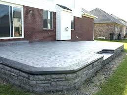 concrete patio costs per square foot stamped concrete cost per square foot bar furniture how much concrete patio cost does stained stamped concrete patio
