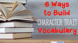 improve reading prehension in upper elementary students by building their character trait voary