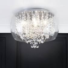 bathroom ceiling bowl semi flush lighting