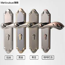 meticulou mortise interior door lock set security entry doors lever lockset silent core stainless steel locks spring boltin from home entry door locks o5 locks