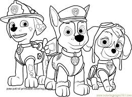 Free Paw Patrol Coloring Pages New Free Printable Puppy Coloring