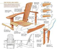 adirondack chair plans. Modren Chair How To Build An Adirondack Chair Plans With Pinterest