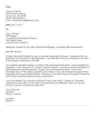 Cover Letter For Summer Internship Sample Cover Letter For Summer