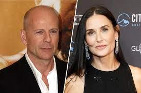 Bruce Willis und Demi Moore zeigen sich ...