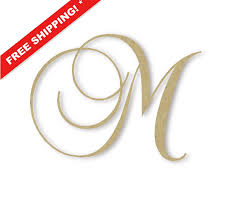 Fancy Letter M Clipart 36