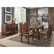 all wood dining room table. Archer 10-piece Dining Set All Wood Room Table