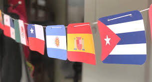 Color scheme was created by colorswall. Spanish Speaking Countries Flags And Free Printable Banner