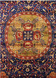 detail of persian carpet