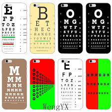 Us 1 99 Medical Eye Vision Chart Slim Ultra Thin Tpu Soft Phone Cover Case For Xiaomi Redmi 3 3s 4 4a 4x 5 Plus Pro Note 3 4 5 5a In Half Wrapped