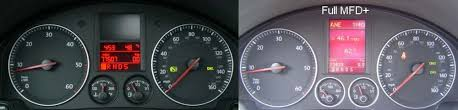multifunction display mfi or mfd faq and menu settings mk5 mk6 you need an oem gps or compass module for the compass to show up in the display but if you have a highline display the car already has at least the compass