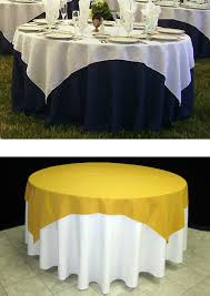 Round Table Linen Chart How To Choose The Right Table Linen Size For Your Wedding Or