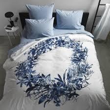 orchid blue duvet cover